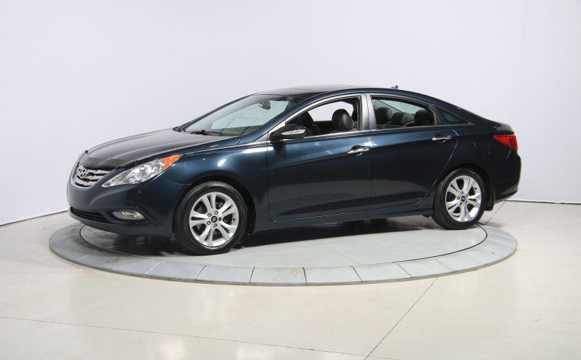 2011 Hyundai Sonata Limited AUTO CUIR TOIT MAGS BLUETOOTH #2