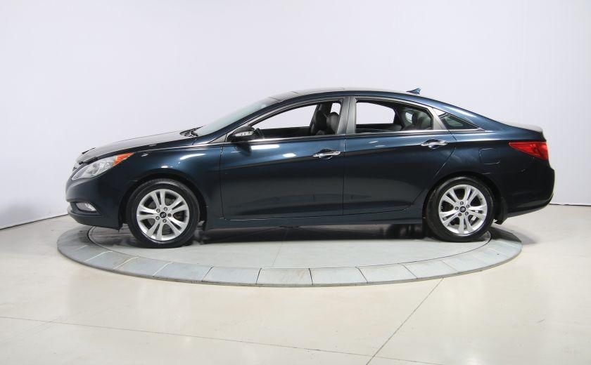 2011 Hyundai Sonata Limited AUTO CUIR TOIT MAGS BLUETOOTH #3