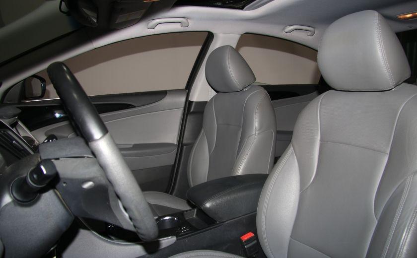 2011 Hyundai Sonata Limited AUTO CUIR TOIT MAGS BLUETOOTH #9