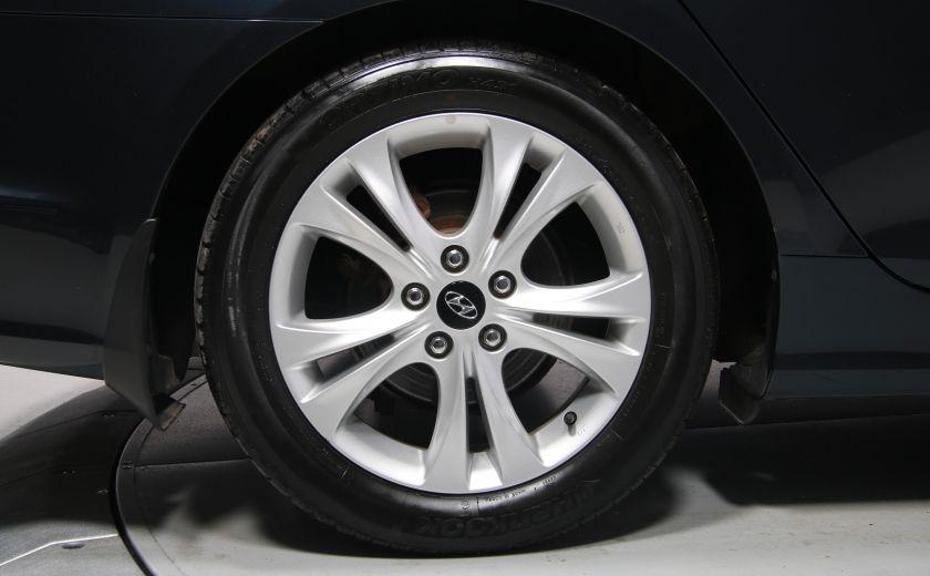 2011 Hyundai Sonata Limited AUTO CUIR TOIT MAGS BLUETOOTH #32