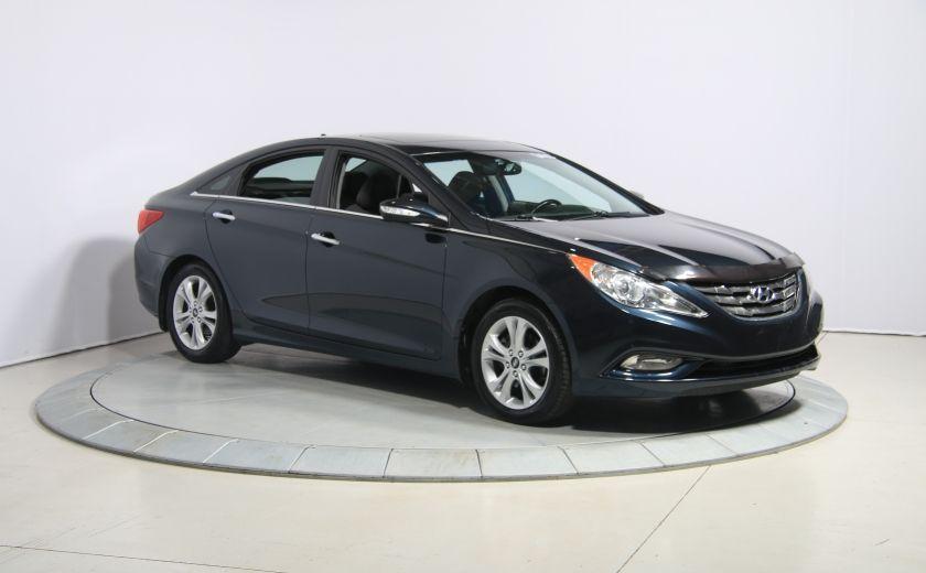 2011 Hyundai Sonata Limited AUTO CUIR TOIT MAGS BLUETOOTH #0
