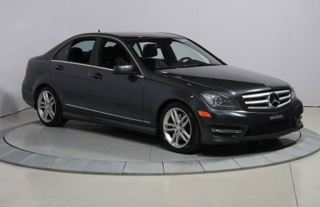 2013 Mercedes Benz C300 4MATIC AUTO CUIR TOIT MAGS BLUETOOTH à Sept-Îles