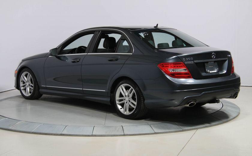 2013 Mercedes Benz C300 4MATIC AUTO CUIR TOIT MAGS BLUETOOTH #4