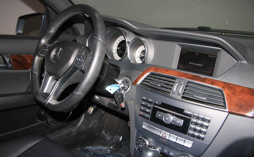 2013 Mercedes Benz C300 4MATIC AUTO CUIR TOIT MAGS BLUETOOTH #24