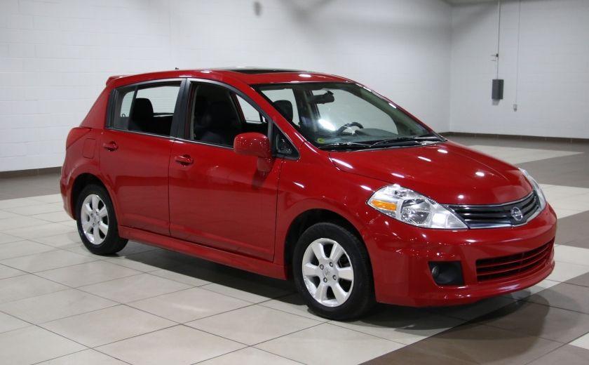 2012 Nissan Versa 1.8 SL AUTO A/C TOIT MAGS BLUETOOTH #0