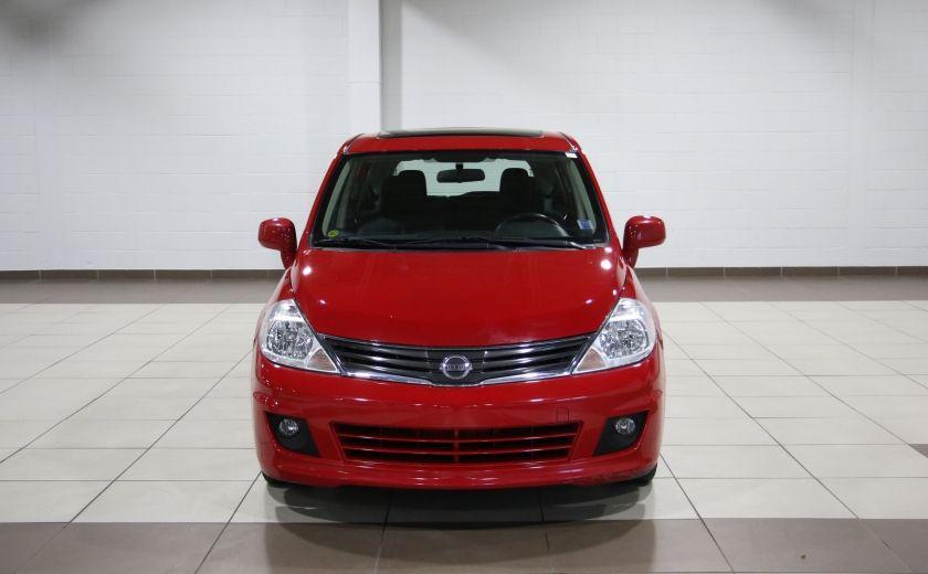 2012 Nissan Versa 1.8 SL AUTO A/C TOIT MAGS BLUETOOTH #1