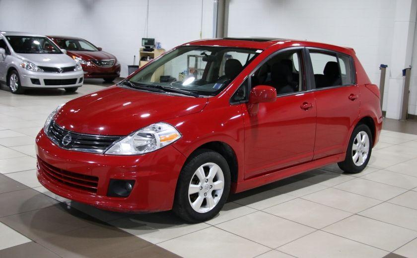 2012 Nissan Versa 1.8 SL AUTO A/C TOIT MAGS BLUETOOTH #2