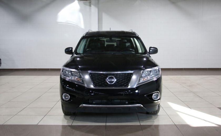 2014 Nissan Pathfinder SL TECH 4WD CUIR NAVIGATION HAYON ELECT #1