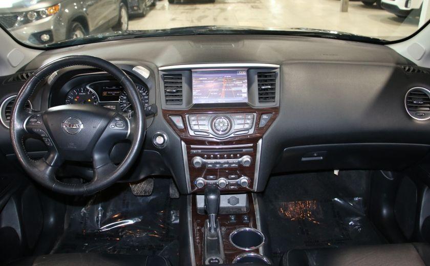 2014 Nissan Pathfinder SL TECH 4WD CUIR NAVIGATION HAYON ELECT #12