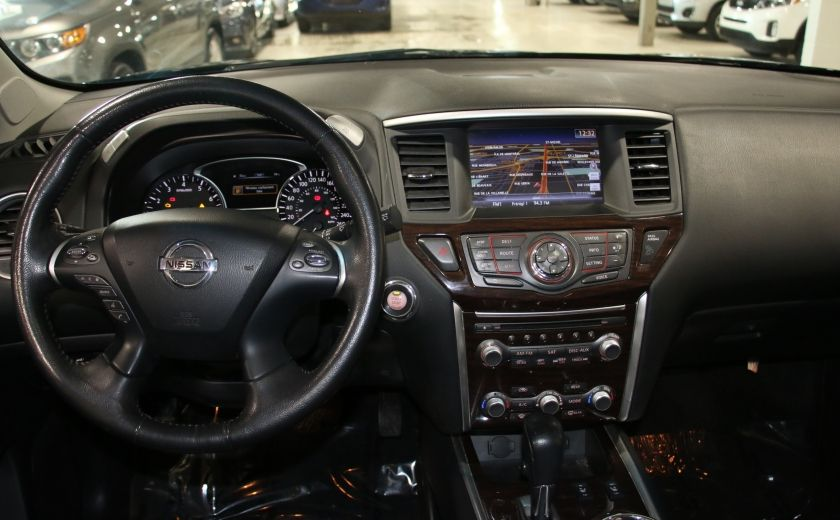 2014 Nissan Pathfinder SL TECH 4WD CUIR NAVIGATION HAYON ELECT #13