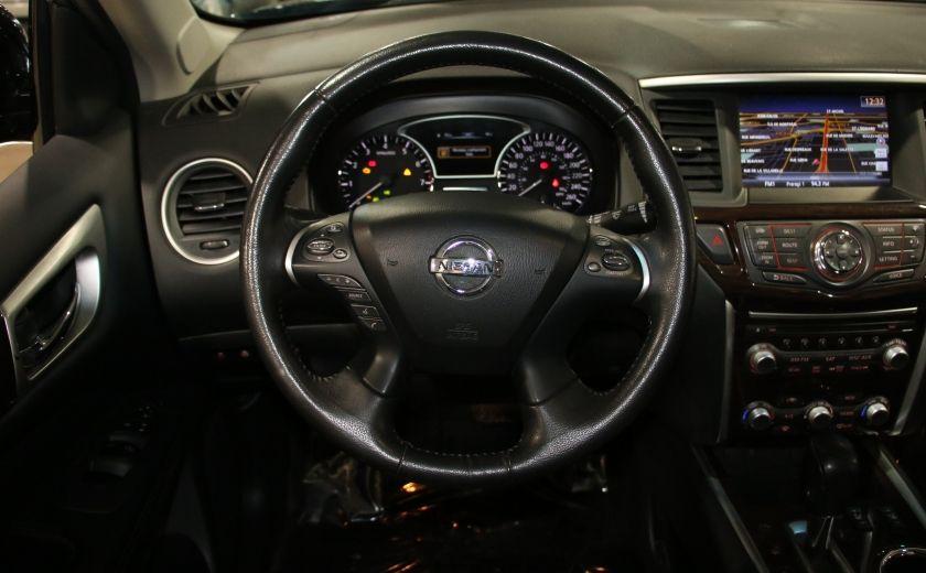 2014 Nissan Pathfinder SL TECH 4WD CUIR NAVIGATION HAYON ELECT #14
