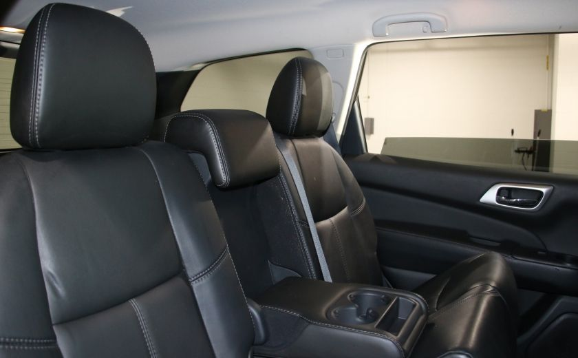 2014 Nissan Pathfinder SL TECH 4WD CUIR NAVIGATION HAYON ELECT #27