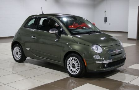 2012 Fiat 500 Lounge AUTO A/C CUIR TOIT MAGS BLUETOOTH à Longueuil