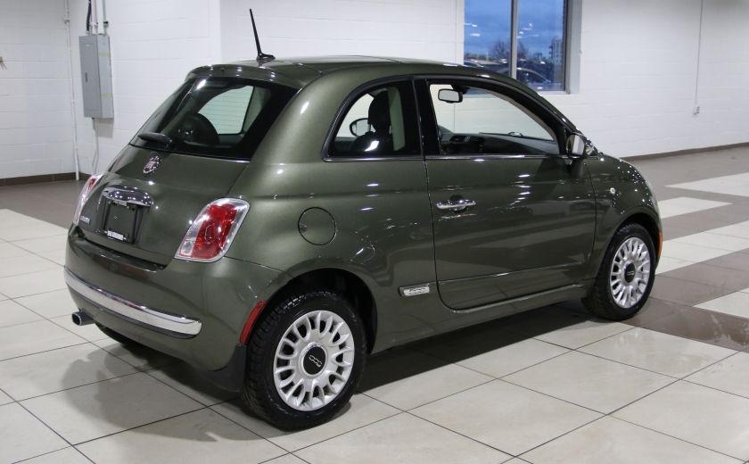 2012 Fiat 500 Lounge AUTO A/C CUIR TOIT MAGS BLUETOOTH #6