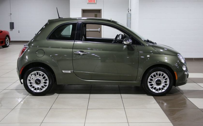 2012 Fiat 500 Lounge AUTO A/C CUIR TOIT MAGS BLUETOOTH #7