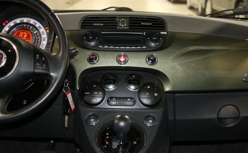 2012 Fiat 500 Lounge AUTO A/C CUIR TOIT MAGS BLUETOOTH #13