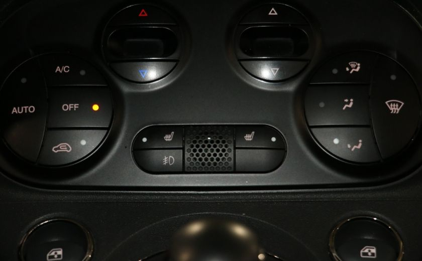 2012 Fiat 500 Lounge AUTO A/C CUIR TOIT MAGS BLUETOOTH #14