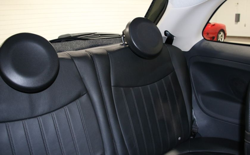 2012 Fiat 500 Lounge AUTO A/C CUIR TOIT MAGS BLUETOOTH #16