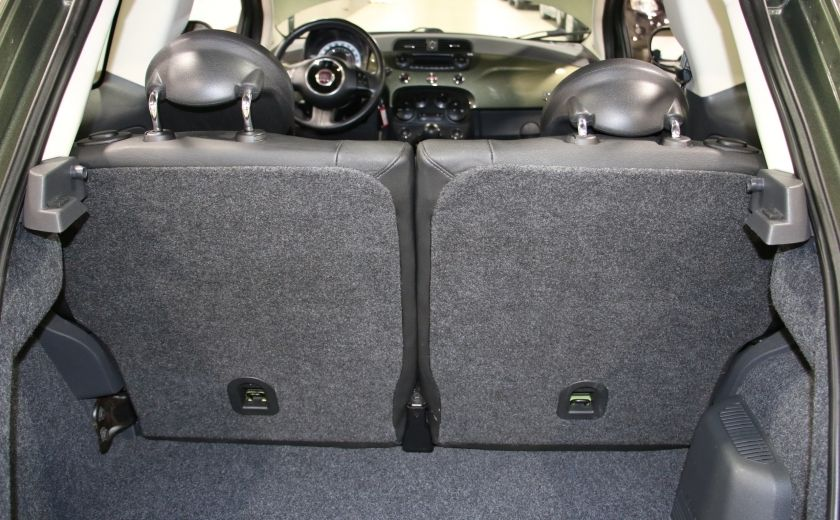 2012 Fiat 500 Lounge AUTO A/C CUIR TOIT MAGS BLUETOOTH #23