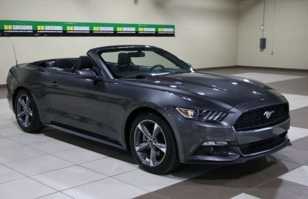 2016 Ford Mustang V6 CONVERTIBLE AUTO A/C MAGS BLUETOOTH in Sherbrooke