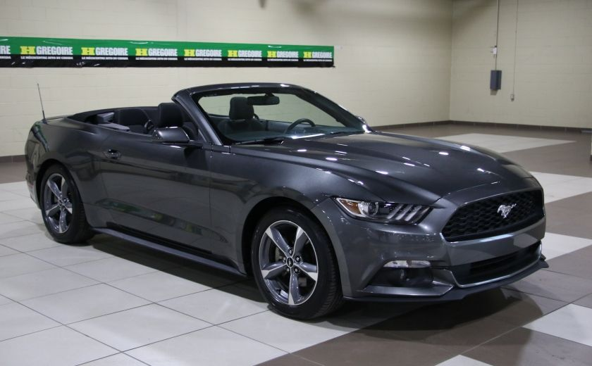2016 Ford Mustang V6 CONVERTIBLE AUTO A/C MAGS BLUETOOTH #0