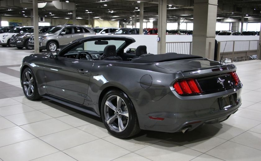 2016 Ford Mustang V6 CONVERTIBLE AUTO A/C MAGS BLUETOOTH #4