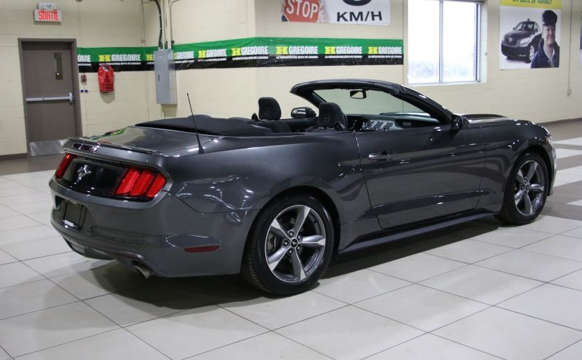 2016 Ford Mustang V6 CONVERTIBLE AUTO A/C MAGS BLUETOOTH #6