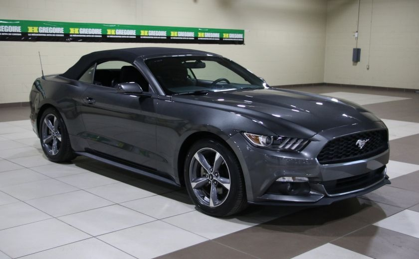 2016 Ford Mustang V6 CONVERTIBLE AUTO A/C MAGS BLUETOOTH #8