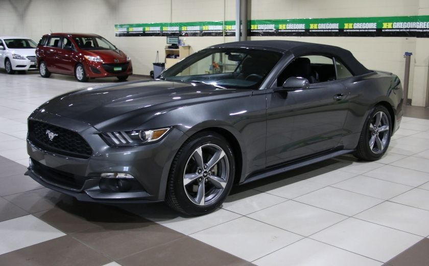 2016 Ford Mustang V6 CONVERTIBLE AUTO A/C MAGS BLUETOOTH #9