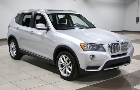 2013 BMW X3 28i AWD AUTO A/C CUIR TOIT MAGS in New Richmond