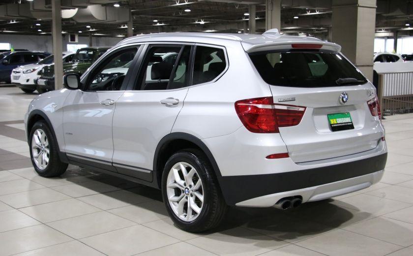 2013 BMW X3 28i AWD AUTO A/C CUIR TOIT MAGS #4