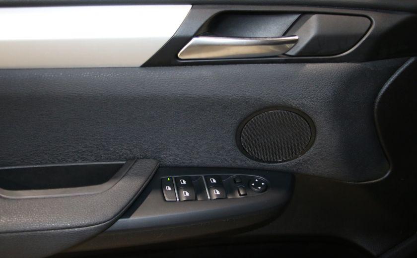 2013 BMW X3 28i AWD AUTO A/C CUIR TOIT MAGS #10