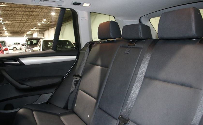 2013 BMW X3 28i AWD AUTO A/C CUIR TOIT MAGS #21