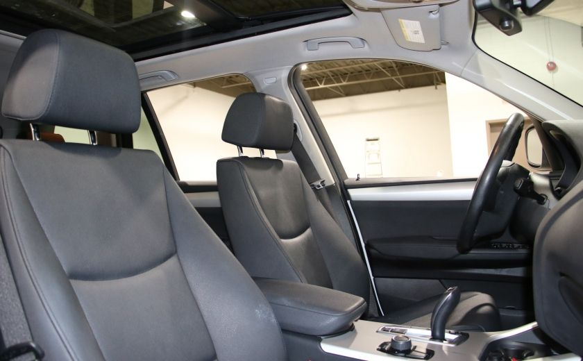 2013 BMW X3 28i AWD AUTO A/C CUIR TOIT MAGS #26