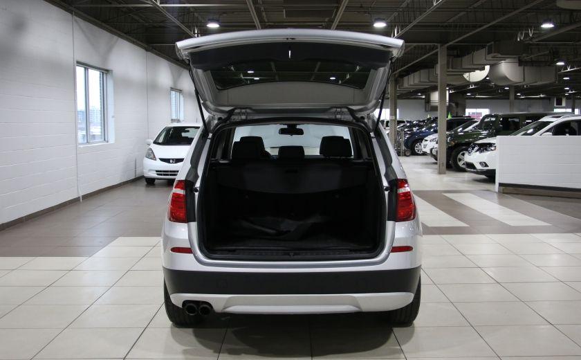 2013 BMW X3 28i AWD AUTO A/C CUIR TOIT MAGS #29