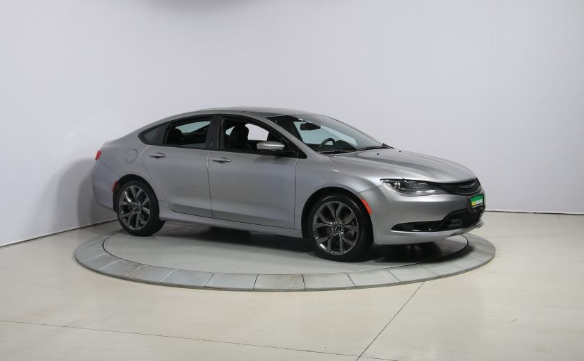 2015 Chrysler 200 S AUTO A/C TOIT PANO MAGS BLUETOOTH #0