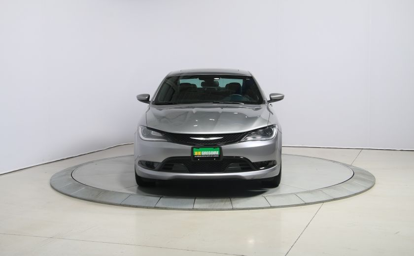 2015 Chrysler 200 S AUTO A/C TOIT PANO MAGS BLUETOOTH #1