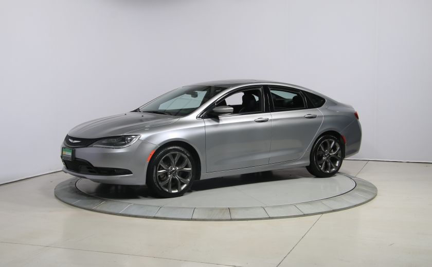 2015 Chrysler 200 S AUTO A/C TOIT PANO MAGS BLUETOOTH #2