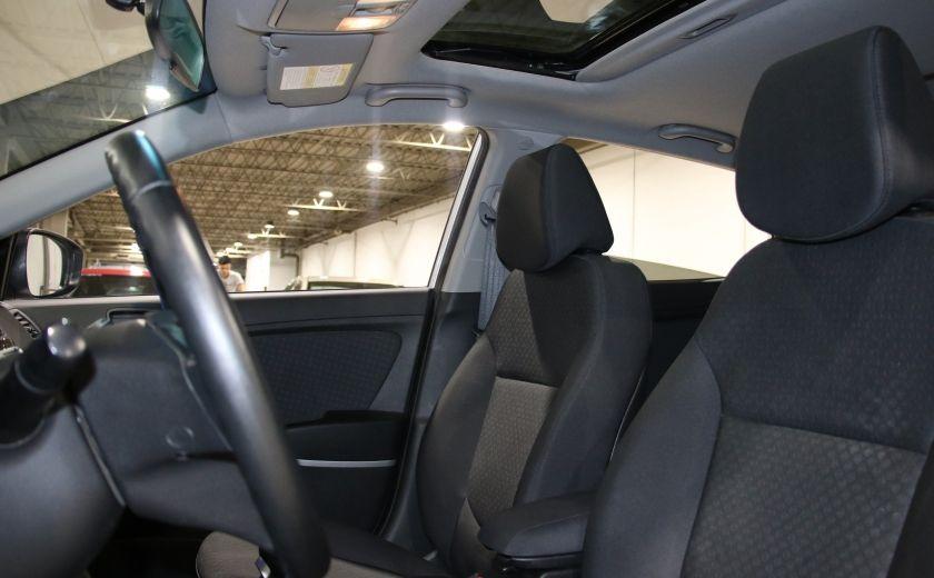2013 Hyundai Accent GLS A/C GR ELECT TOIT BLUETOOTH #8