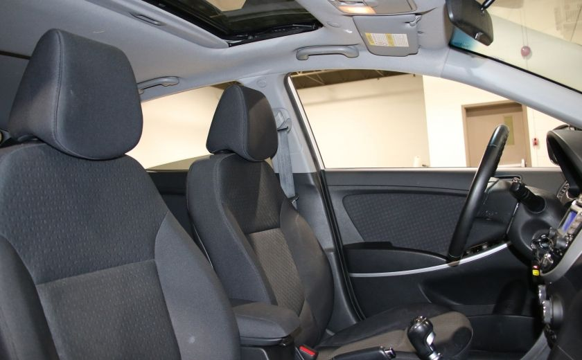 2013 Hyundai Accent GLS A/C GR ELECT TOIT BLUETOOTH #21
