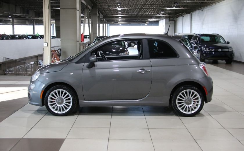 2012 Fiat 500 Sport A/C GR ELECT TOIT MAGS #3