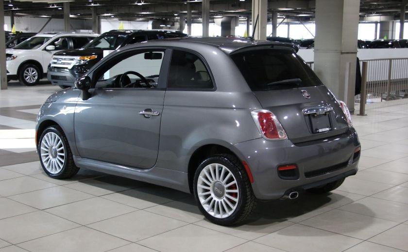 2012 Fiat 500 Sport A/C GR ELECT TOIT MAGS #4