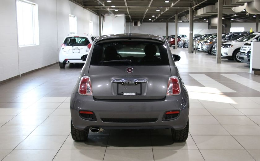 2012 Fiat 500 Sport A/C GR ELECT TOIT MAGS #5