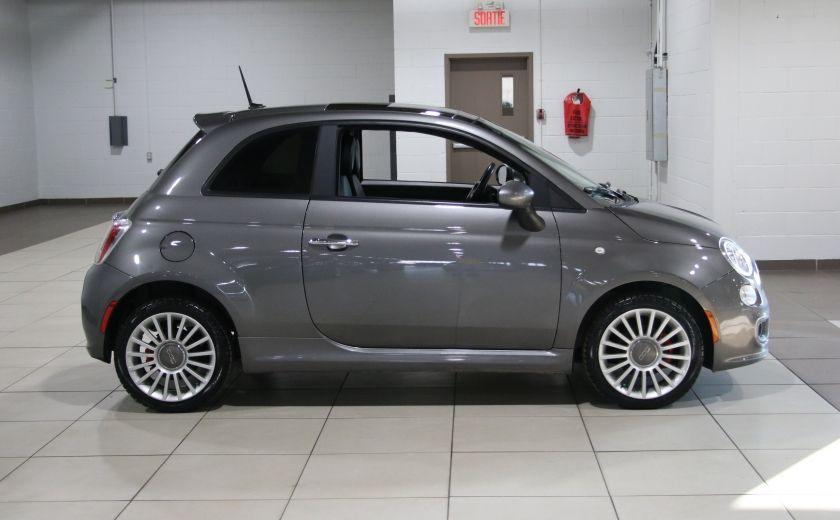 2012 Fiat 500 Sport A/C GR ELECT TOIT MAGS #7