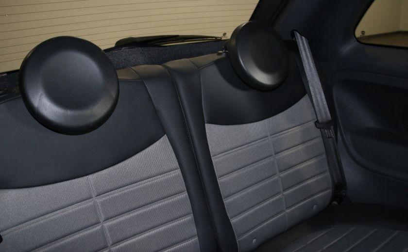 2012 Fiat 500 Sport A/C GR ELECT TOIT MAGS #12