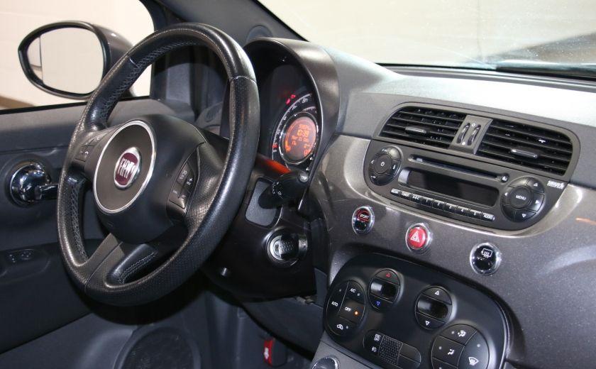 2012 Fiat 500 Sport A/C GR ELECT TOIT MAGS #14