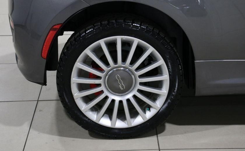 2012 Fiat 500 Sport A/C GR ELECT TOIT MAGS #18