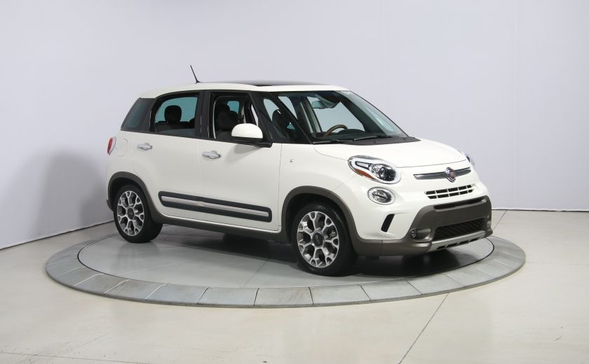 2015 Fiat 500L Trekking AUTO A/C TOIT PANO MAGS BLUETOOTH #0