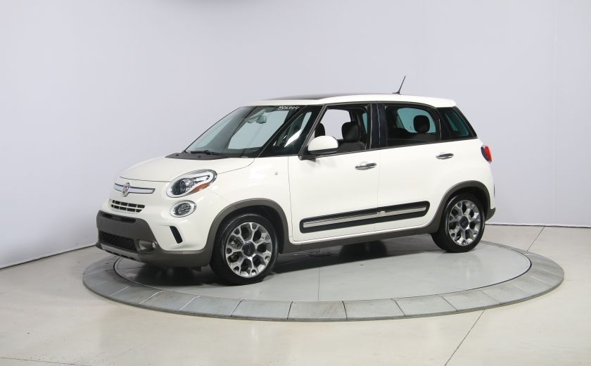 2015 Fiat 500L Trekking AUTO A/C TOIT PANO MAGS BLUETOOTH #2