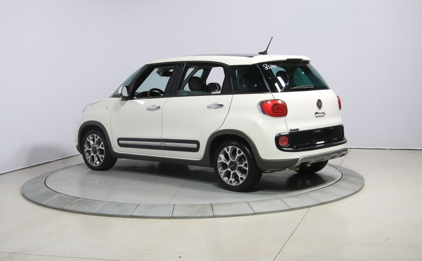 2015 Fiat 500L Trekking AUTO A/C TOIT PANO MAGS BLUETOOTH #4